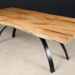 2176-Curly-Maple-table-on-Fremont-Base-1