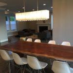 Jewell Hardwoods Custom Furniture Walnut Dining Table