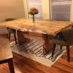 Spalted Maple Dining Table - Jewell Hardwoods. Jewell Hardwoods Finished