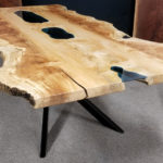 Maple Ponds Dining Table Glass Jewell Hardwoods