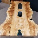 Live Edge Maple Ponds Table Jewell Hardwoods