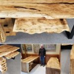 Silver Maple Waterfall Office Collection