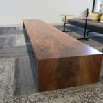 Black Walnut Waterfall Table One Main Place Jewell Hardwoods