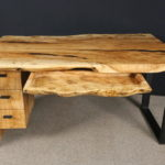 Silver-Maple-Desk-Burl-Drawer