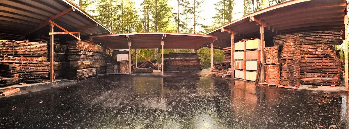 Jewell Hardwoods Lumberyard