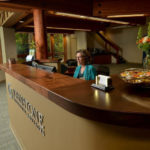 Reception Desk for Johnstone Financial - Lake Oswego, OR