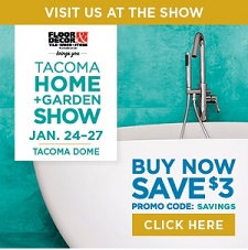 Tacoma Home and Garden Show Featuring Jewell Hardwoods Custom Furniture