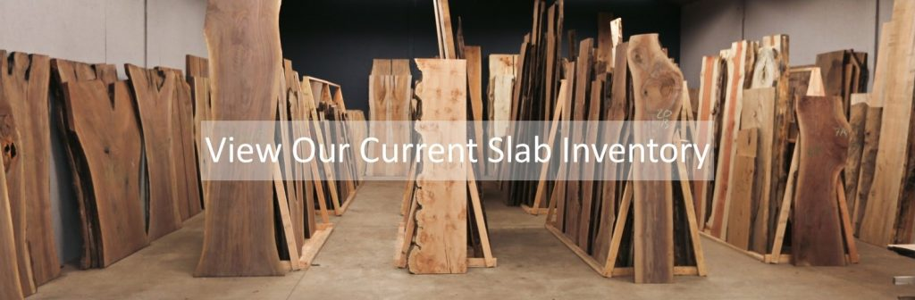Unfinished Live Edge Slabs Current Slab Inventory Showroom 2019 Jewell Hardwoods
