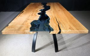 Columbia Gorge Collection Maple Table 119 Jewell Hardwoods River Table