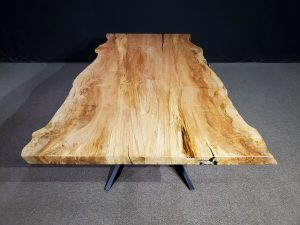 Live Edge Maple Table Jewell Hardwoods