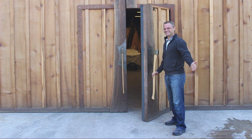Jewell Hardwoods Live Edge Slab and Furniture Showroom Tim Layzell