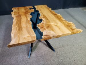 Maple Burl Columbia Gorge Collection River Table Jewell Hardwoods