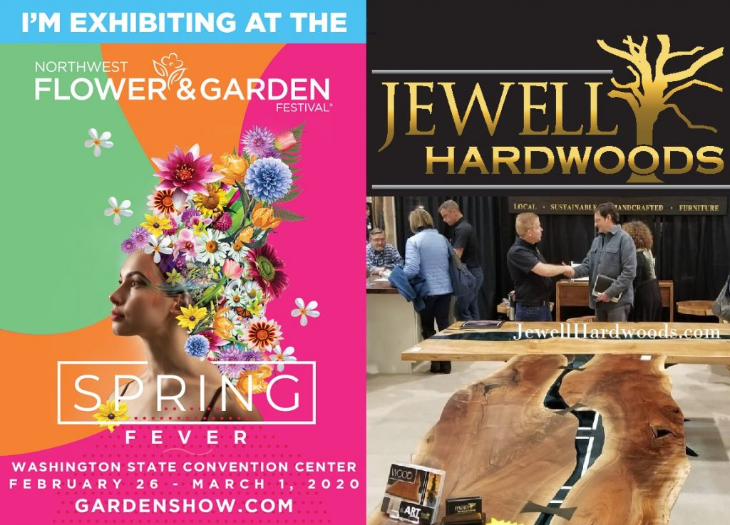 NW Flower and Garden Festival Featuring Jewell Hardwoods