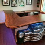 Custom Chevy Theme Bar Jewell Hardwoods