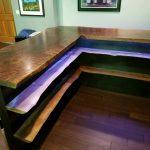 Custom Chevy Theme Bar Jewell Hardwoods..
