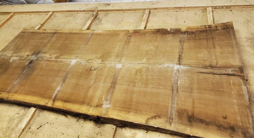 Dry Rough Sawn Walnut Slab Jewell Hardwoods