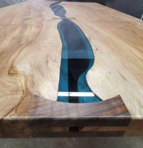 Maple Bridges River Table Jewell Hardwoods