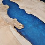 Maple-Burl-Epoxy-River-Table-Upclose-with-Shimmer.